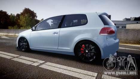 Volkswagen Golf R para GTA 4 left