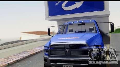 Dodge Ram 350 para la visión correcta GTA San Andreas