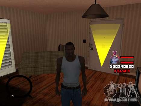 HUD by LokoMoko para GTA San Andreas sucesivamente de pantalla