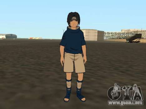 Sasuke Uchiha para GTA San Andreas