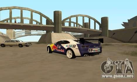 Chevrolet Camaro ZL1 RedBull para GTA San Andreas left