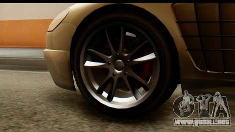 GTA 5 Ocelot F620 v2 para GTA San Andreas vista posterior izquierda