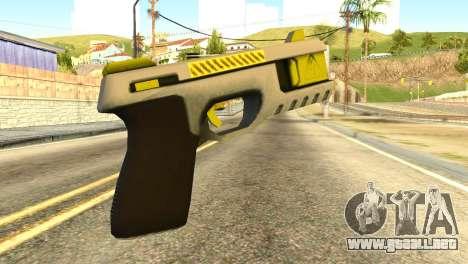 Stun Gun from GTA 5 para GTA San Andreas segunda pantalla