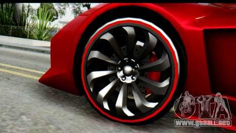 GTA 5 Pegassi Zentorno para la visión correcta GTA San Andreas