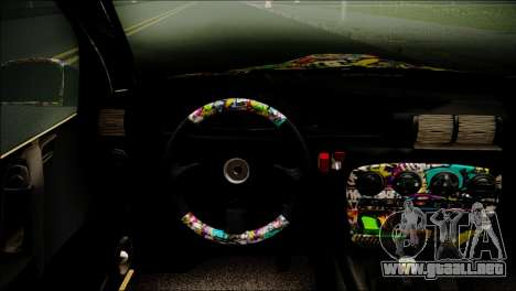 Opel Omega RAT para GTA San Andreas vista posterior izquierda