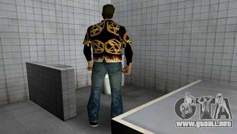 Pentagram Shirt para GTA Vice City quinta pantalla