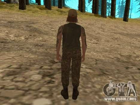Cletus Ewing de GTA V para GTA San Andreas segunda pantalla