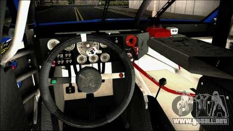 Chevrolet SS NASCAR Sprint Cup Series 2013-2014 para la visión correcta GTA San Andreas