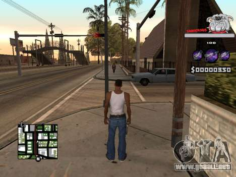 C-HUD by Sorel para GTA San Andreas tercera pantalla