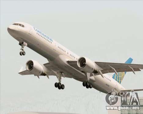 Boeing 757-200 Continental Airlines para las ruedas de GTA San Andreas