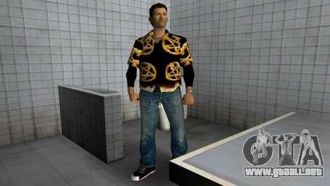 Pentagram Shirt para GTA Vice City tercera pantalla