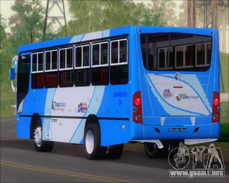 Caio Foz Super I 2006 Transurbane Guarulhoz 541 para vista lateral GTA San Andreas