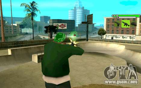 C-HUD Greny para GTA San Andreas segunda pantalla