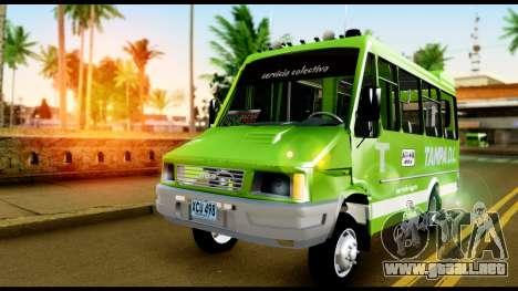 Iveco Minibus para la visión correcta GTA San Andreas