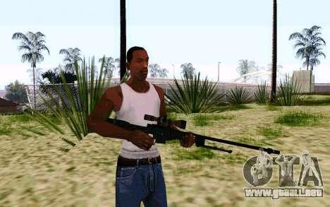 AWP L96A1 (Dodgers) para GTA San Andreas segunda pantalla