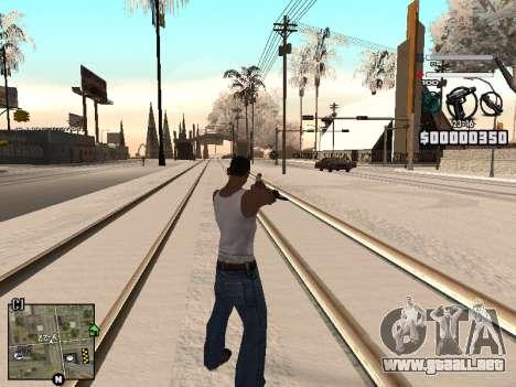 C-HUD Laden para GTA San Andreas tercera pantalla