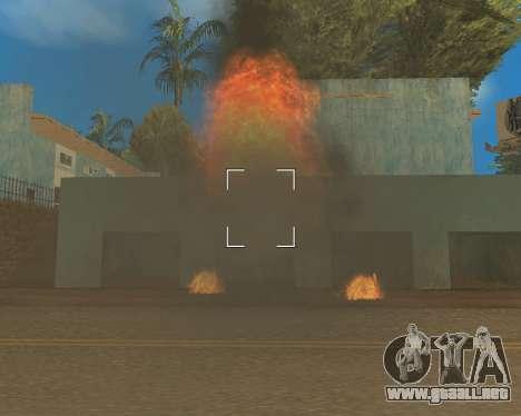 Effect Mod 2014 By Sombo para GTA San Andreas sexta pantalla