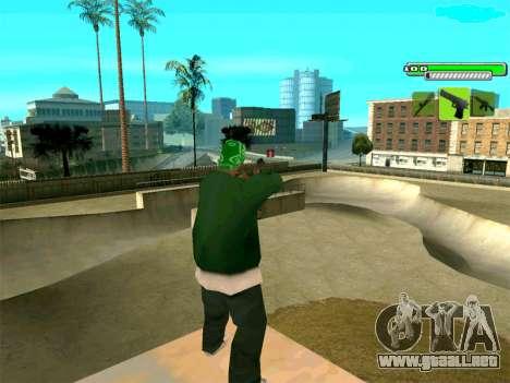 C-HUD Greny para GTA San Andreas tercera pantalla