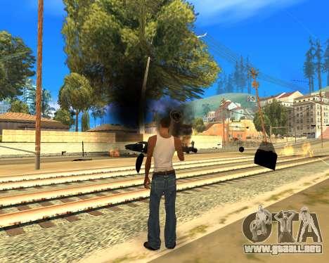 Effect Mod 2014 By Sombo para GTA San Andreas sucesivamente de pantalla