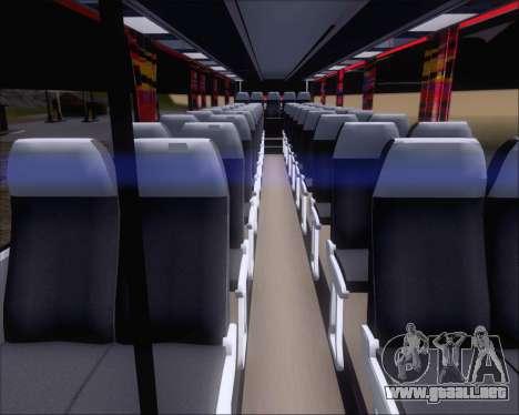 Nissan Diesel UD Santarosa EAGLESTAR 998 para visión interna GTA San Andreas