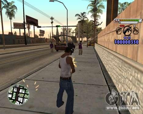 C-HUD by Adam para GTA San Andreas