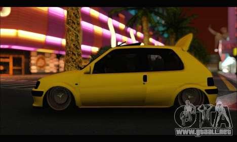 Peugeot 106 GTI para GTA San Andreas