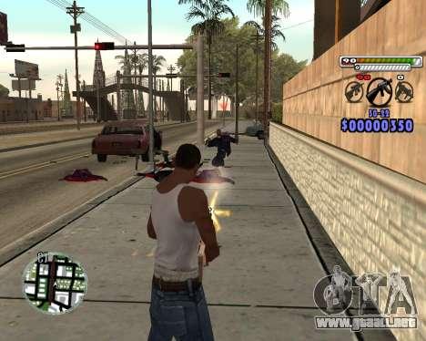 C-HUD by Adam para GTA San Andreas tercera pantalla