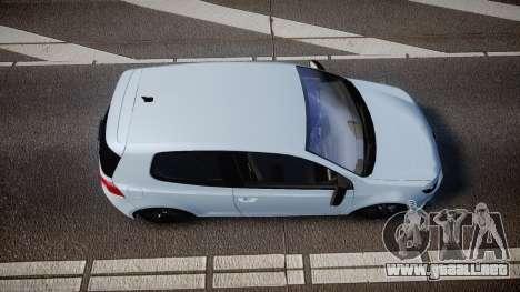 Volkswagen Golf R para GTA 4 visión correcta