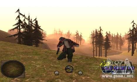 C-HUD Ghetto para GTA San Andreas segunda pantalla