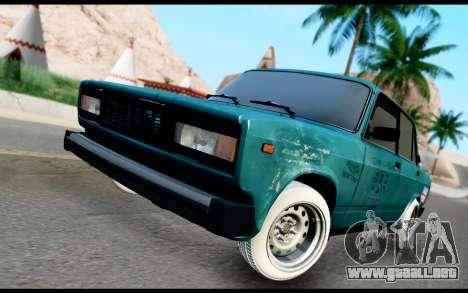 VAZ 2105 A.C. para GTA San Andreas