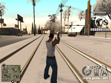 C-HUD Laden para GTA San Andreas segunda pantalla