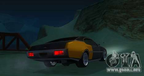 Clover JDM para GTA San Andreas vista posterior izquierda