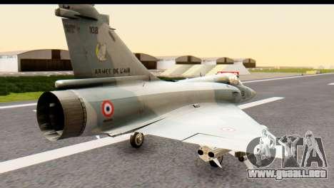 Dassault Mirage 2000-5 para GTA San Andreas