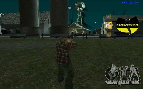 C-HUD Wu-Tang para GTA San Andreas segunda pantalla