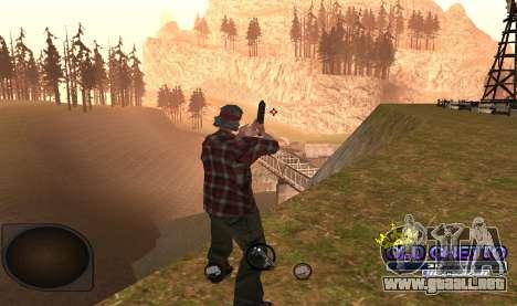 C-HUD Ghetto para GTA San Andreas tercera pantalla