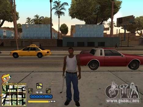 C-HUD Vagos para GTA San Andreas sucesivamente de pantalla