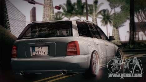 Audi S4 Avant para GTA San Andreas left