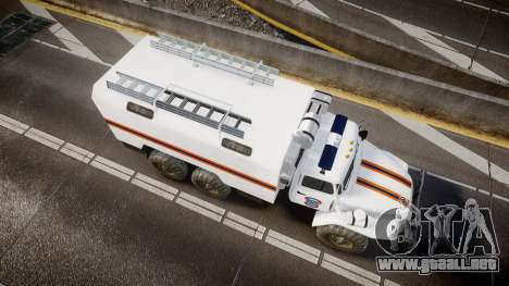 Ural 4320 MES para GTA 4 visión correcta