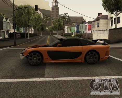 Mazda RX-7 VeilSide Drift para GTA San Andreas left