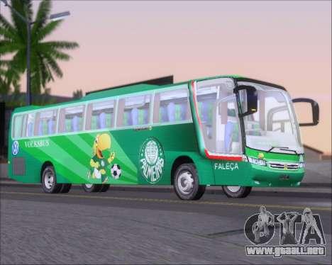 Busscar Vissta Buss LO Palmeiras para GTA San Andreas vista posterior izquierda