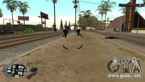 С-HUD Terror para GTA San Andreas
