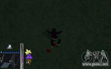 C-HUD Lite SWAG para GTA San Andreas sucesivamente de pantalla