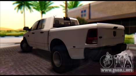 Dodge Ram 3500 Heavy Duty para GTA San Andreas left