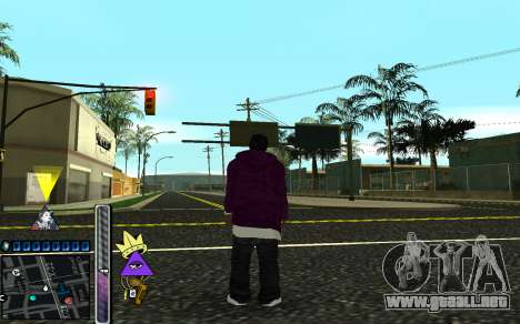 C-HUD Lite SWAG para GTA San Andreas