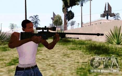 AWP L96A1 (Dodgers) para GTA San Andreas
