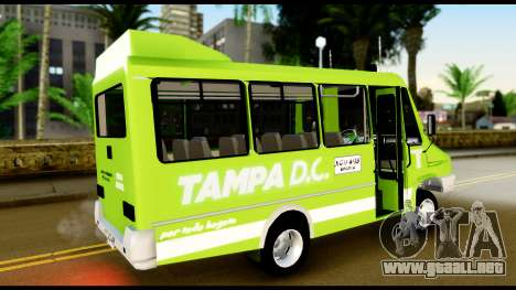 Iveco Minibus para GTA San Andreas left