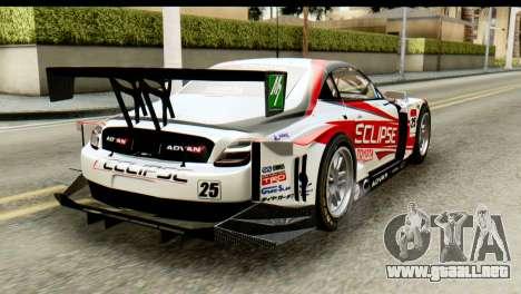 Lexus SC430 2008 para GTA San Andreas left