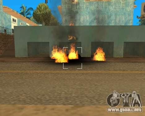 Effect Mod 2014 By Sombo para GTA San Andreas octavo de pantalla