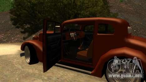 New Hustler para la visión correcta GTA San Andreas