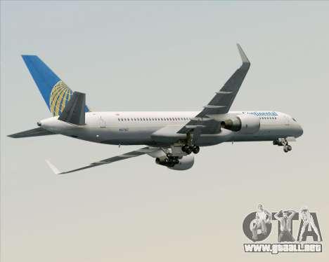 Boeing 757-200 Continental Airlines para el motor de GTA San Andreas